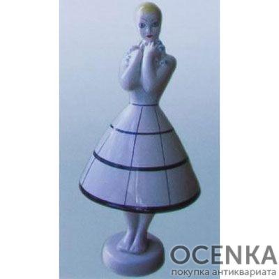 Статуэтка Девушка с ромашками