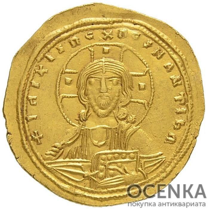 Золотой гистаменон Византии, Михаил VI Стратиотик, 1056-1057 год