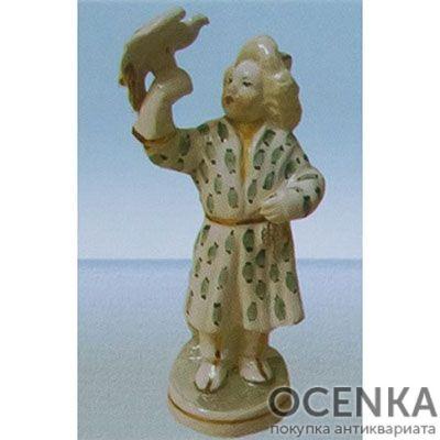 Статуэтка Мальчик с беркутом