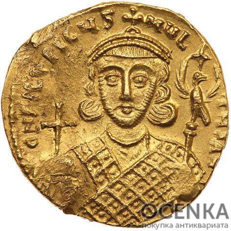 Золотой солид Византии, Филиппик Вардан, 711-713 год