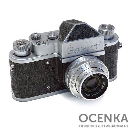 Фотоаппарат Зенит КМЗ 1952-1956 год