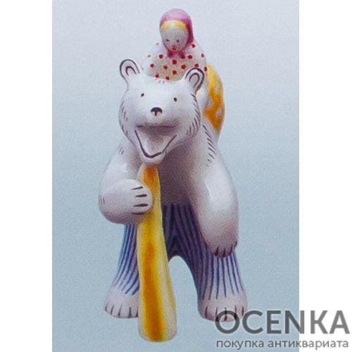 Статуэтка Вербилки Маша и медведь