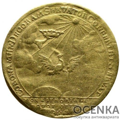 Золотая монета 1 Дукат Германия - 3
