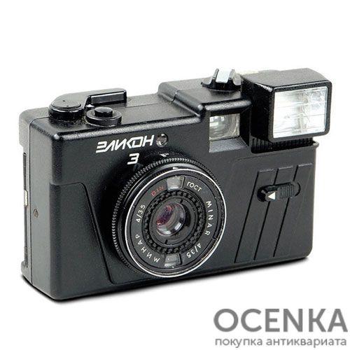 Фотоаппарат Эликон-3 БелОМО 1980-е годы