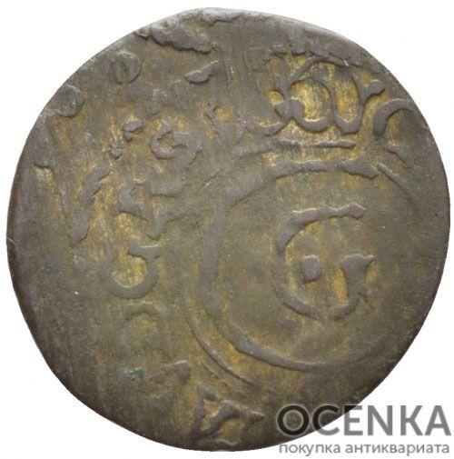 Серебряная монета Солид Средневековой Литвы - 3