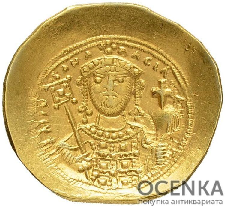 Золотой гистаменон Византии, Михаил VII Дука, 1071-1078 год - 1