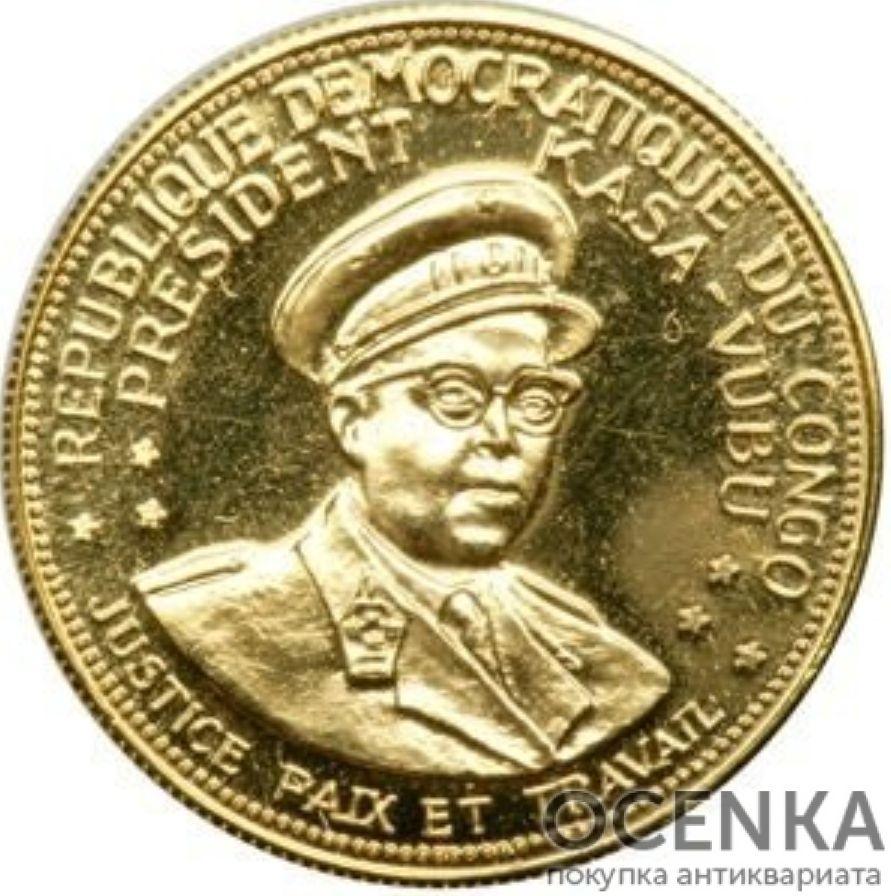 Золотая монета 20 Франков (20 Francs) Конго - 1