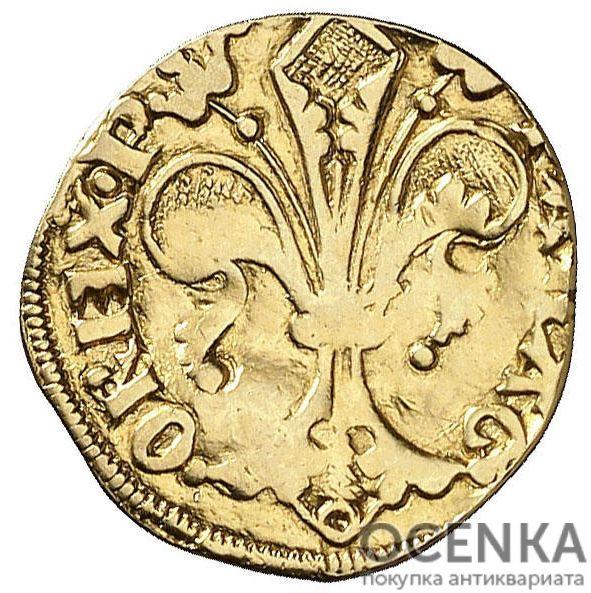 Золотая монета ½ Флорина (½ Florin) Испания