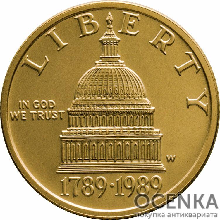 Золотая монета 5 Dollars (5 долларов) США - 15