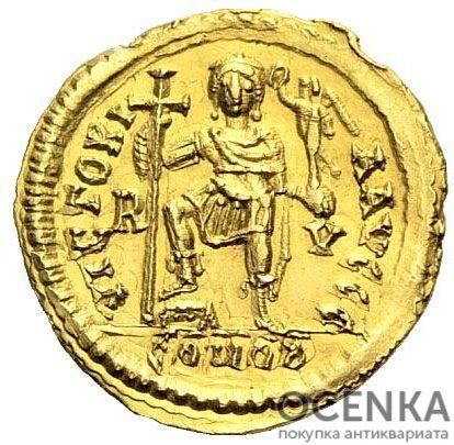 Золотой солид, Флавий Глицерий, 473-474 год - 1