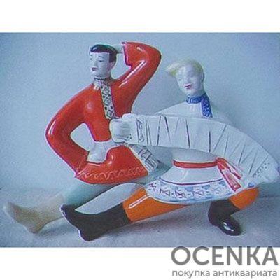 Статуэтка Полонский завод Русский танец