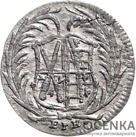 Серебряная монета 6 Пфеннигов (6 Pfennig) Германия - 7