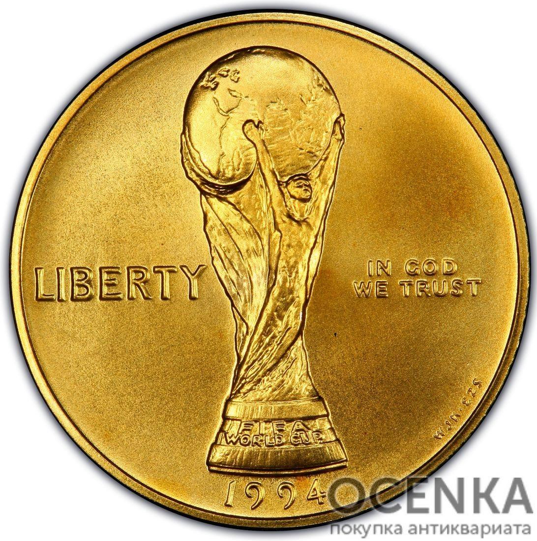 Золотая монета 5 Dollars (5 долларов) США - 17