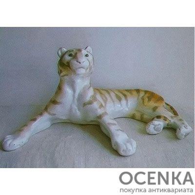 Статуэтка ЛФЗИ Тигр отдыхающий