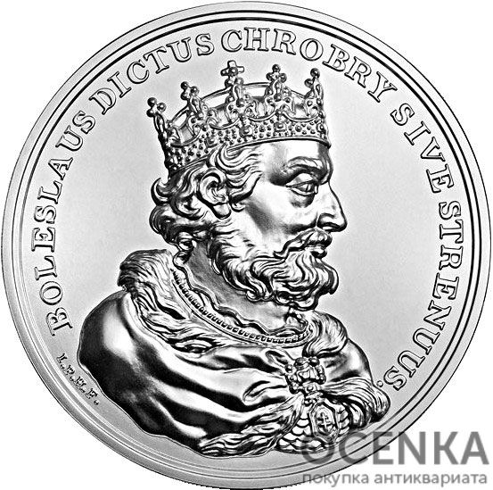Серебряная монета 50 Злотых (50 Złotych) Польша - 6