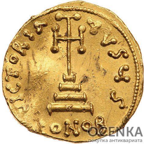 Золотой солид Византии, Филиппик Вардан, 711-713 год - 1