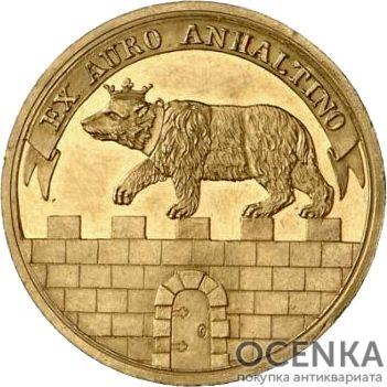 Золотая монета 1 Дукат Германия - 5