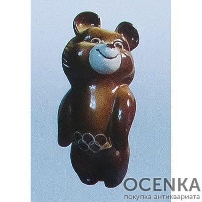Статуэтка ЭКХЗ Олимпийский мишка