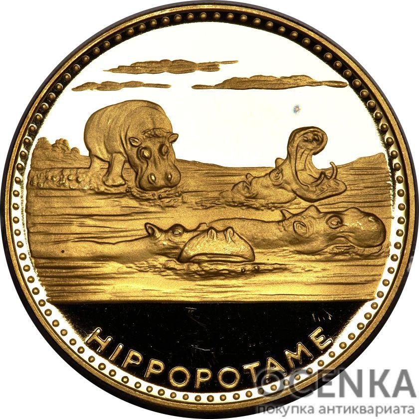 Золотая монета 10 000 Франков Бенина - 1