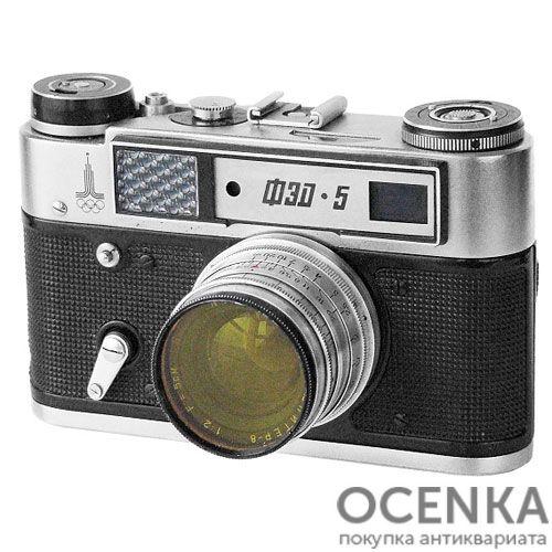 Фотоаппарат ФЭД-5 1977-1990 год