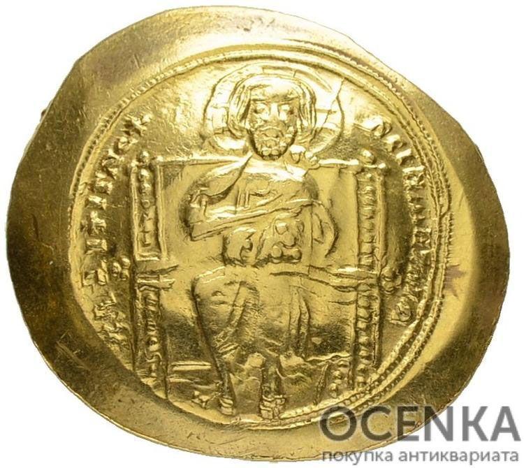 Золотой гистаменон Византии, Константин X Дука, 1059-1067 год
