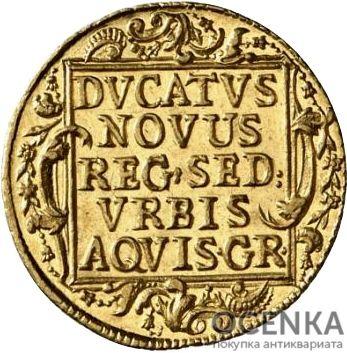 Золотая монета 1 Дукат Германия - 6