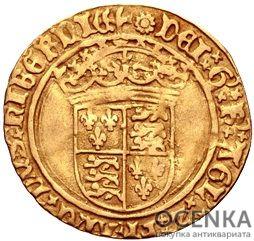 Золотая монета 1 Crown (крона) Великобритания - 3