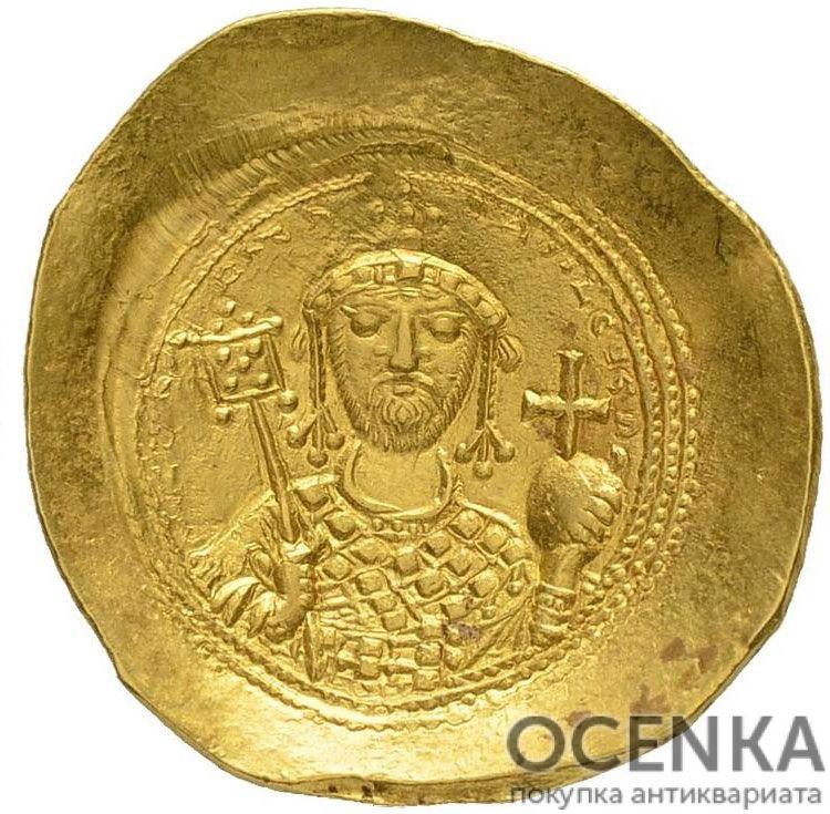 Золотой гистаменон Византии, Константин IX Мономах, 1042-1055 год - 1