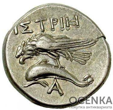 Серебряная монета Дархма Древней Греции