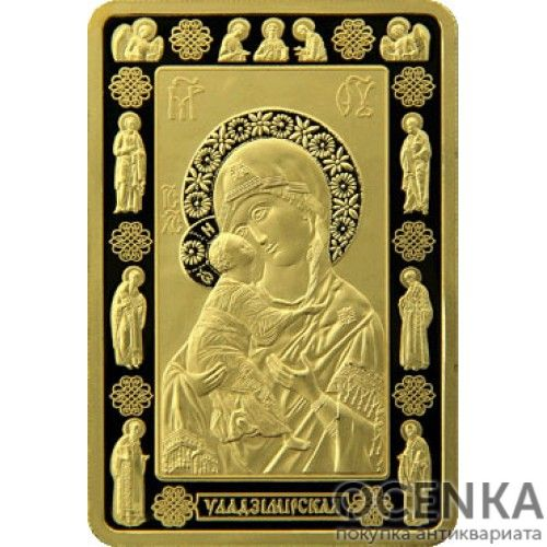 Золотая монета 1000 рублей Белоруссии - 5