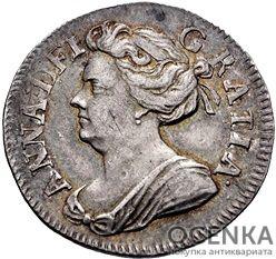 Серебряная монета 2 Пенса (2 Pence) Великобритания - 1