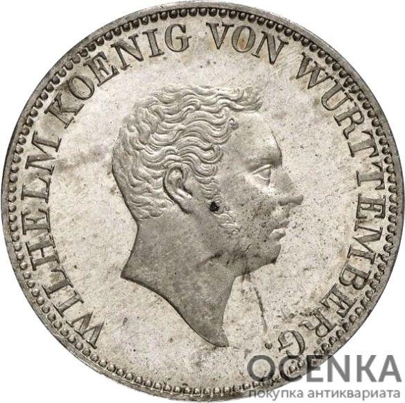 Серебряная монета 2 Гульдена (2 Gulden) Германия - 5