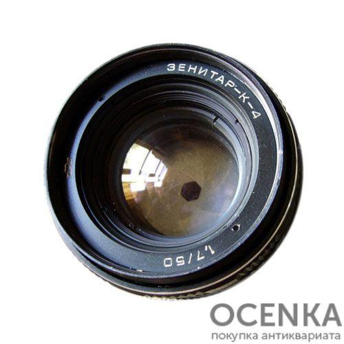 Объектив Зенитар-К-4 1.7/50 мм