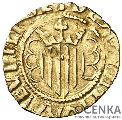 Золотая монета ¼ Пасифико (¼ Pacifico) Испания - 2
