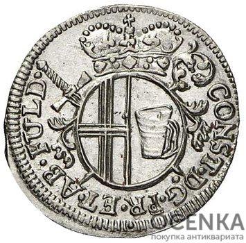 Серебряная монета 4 Пфеннига (4 Pfennig) Германия - 3