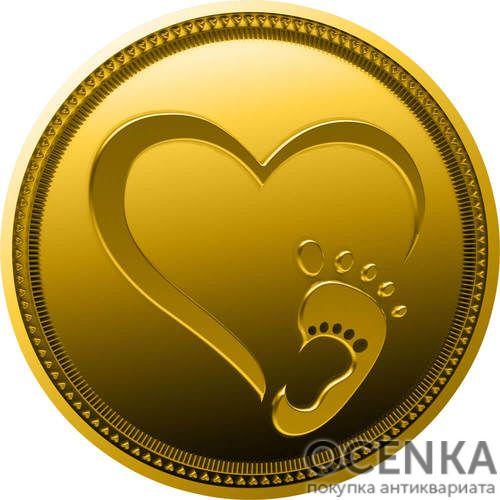 Золотая монета 2000 Франков (2000 Francs) Камеруна - 1