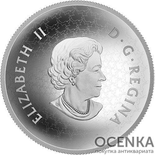 Серебряная монета 50 Долларов Канады - 4