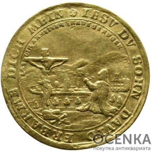 Золотая монета 1 Дукат Германия - 2