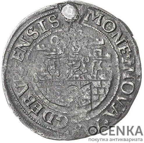 Серебряная монета ½ Гульдена (½ Gulden) Германия - 7