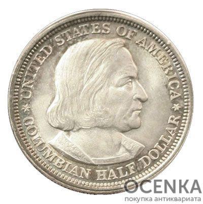 Серебряная монета ½ Доллара (Half Dollar) США - 3