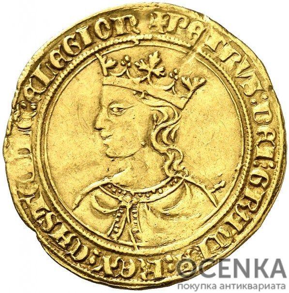 Золотая монета 1 Добла (1 Dobla) Испания - 5