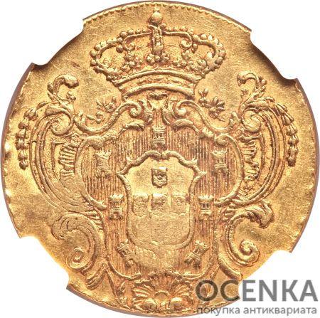 Золотая монета 22 Ливра (22 Livres) Франция - 3
