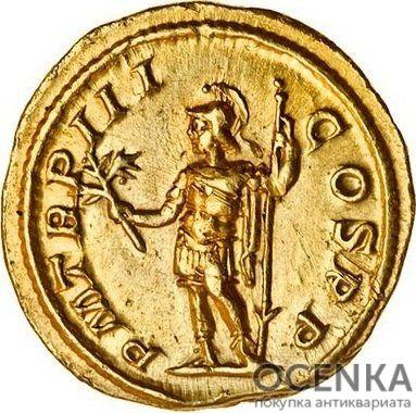 Золотой ауреус, Цезарь Марк Аврелий Север Александр Август, 222-235 год - 1