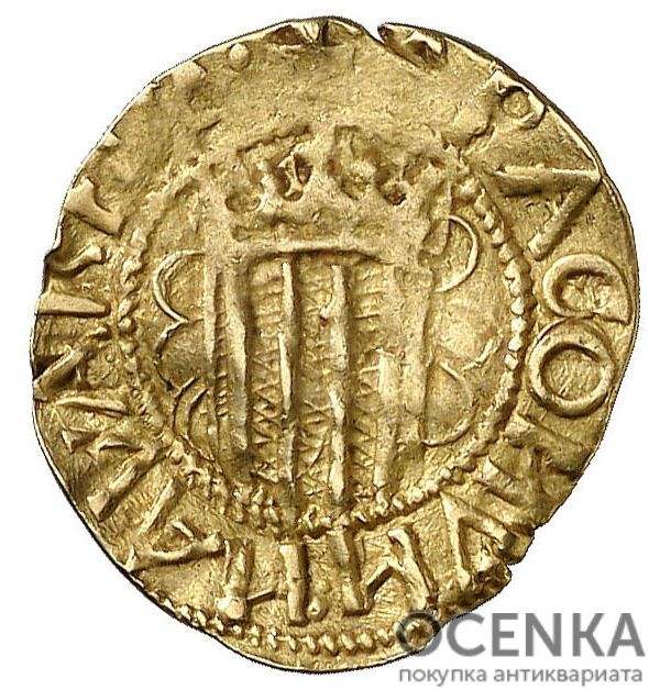 Золотая монета ¼ Пасифико (¼ Pacifico) Испания