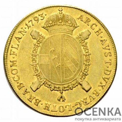 Золотая монета 1 соверен Австро-Венгрии - 2