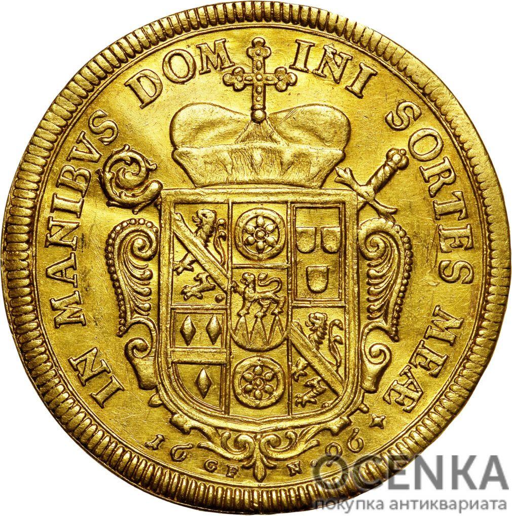 Золотая монета 5 Дукатов Германия - 2