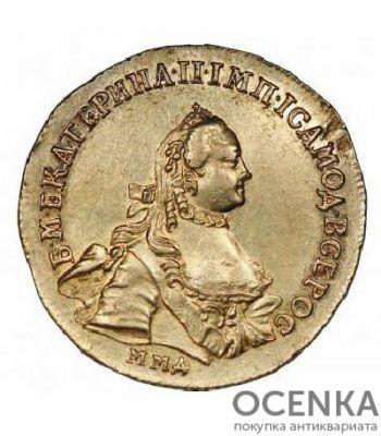 5 рублей 1763 года Екатерина 2 - 1