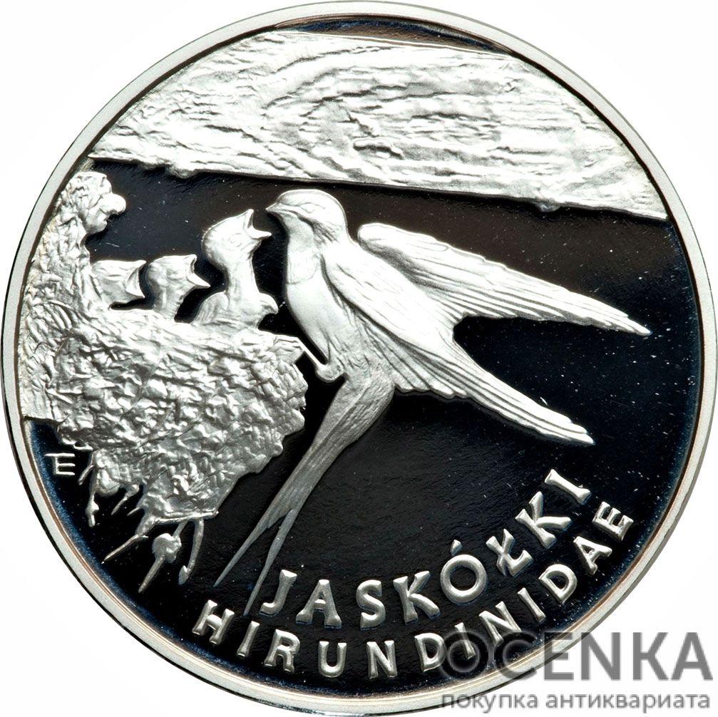 Серебряная монета 300 000 Злотых (300 000 Złotych) Польша - 1