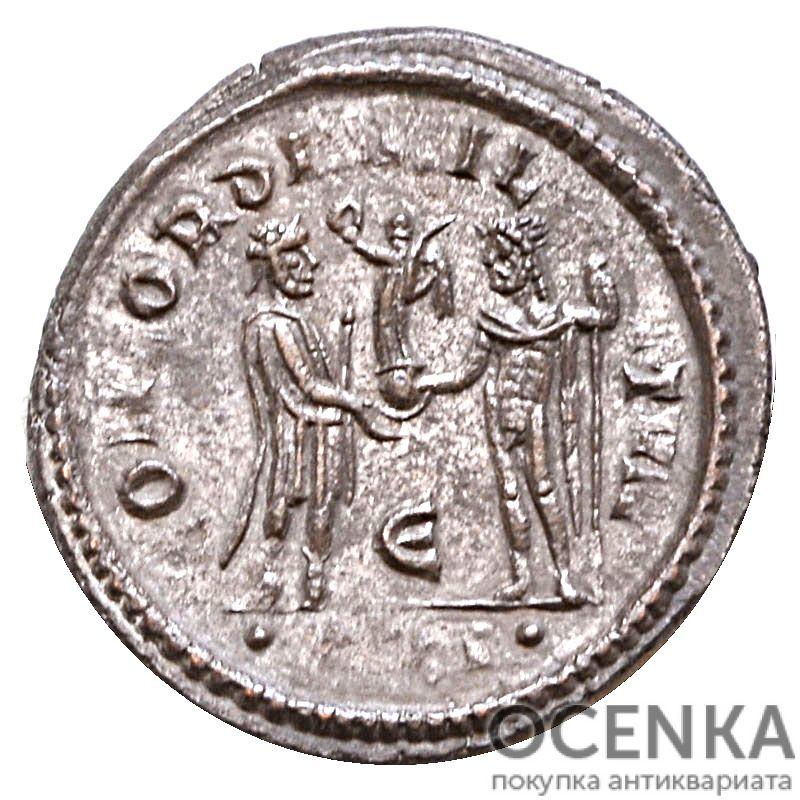 Серебряный Антониниан Марка Аврелия Валерия Максимиана Геркулия, 286-310 год - 1