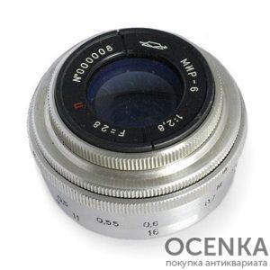 Объектив Мир-6 2.8/28 мм
